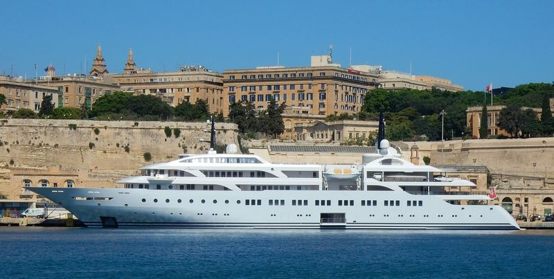 Dream yacht in Malta after her conversion
