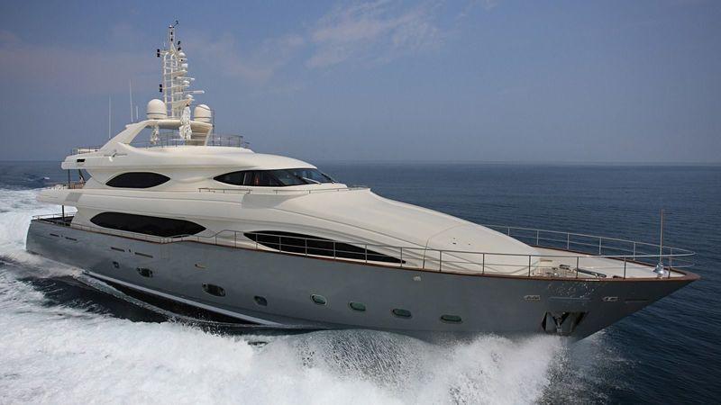 LIBERTAS yacht CRN