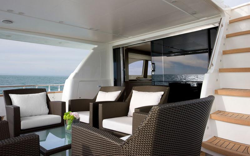Fortuna exterior deck