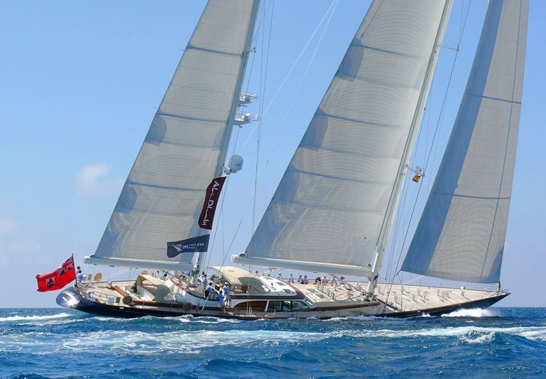 ASOLARE yacht Hodgdon