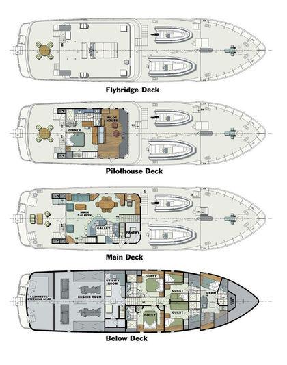 WHALE SONG  yacht Halter Marine