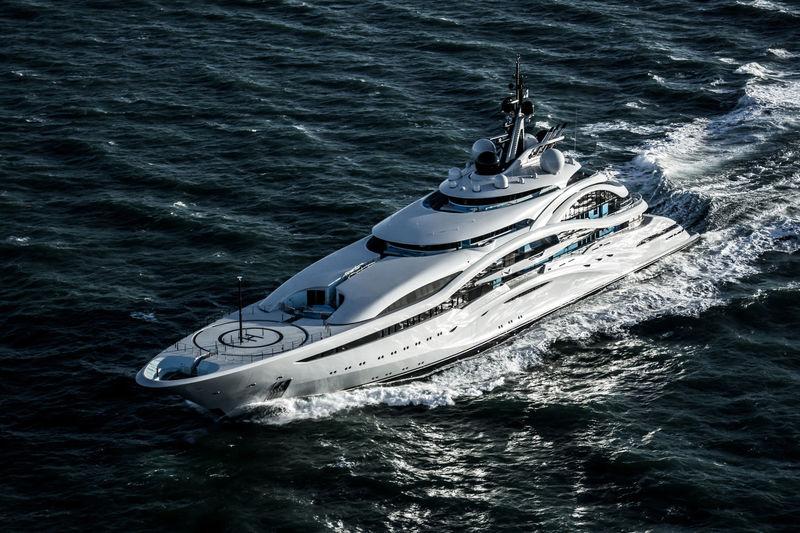 AL LUSAIL yacht Lürssen