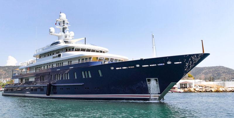Lürssen superyacht Bella Vita in Bodrum