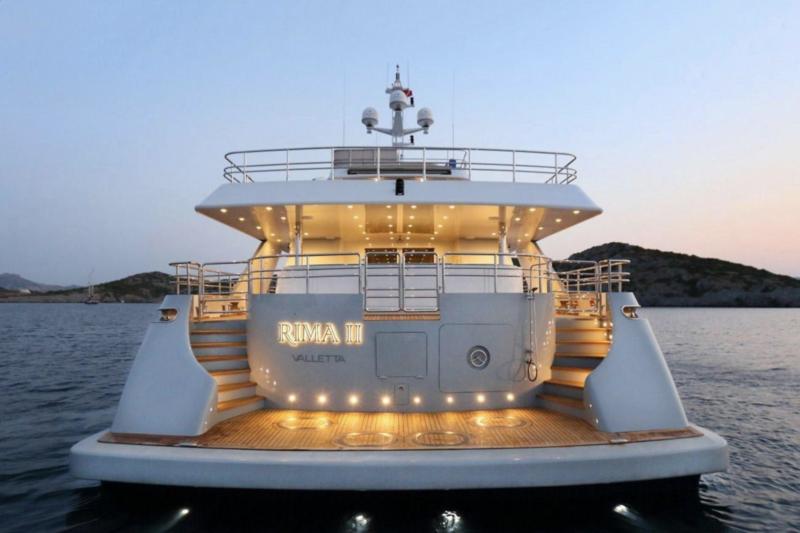 Rima II anchored