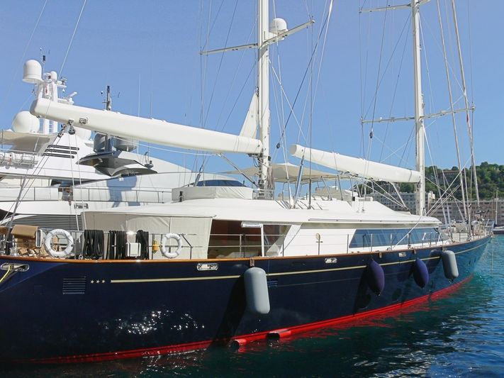 IS A ROSE yacht Perini Navi