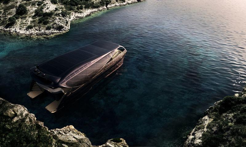 SolarImpact Yacht - rendering