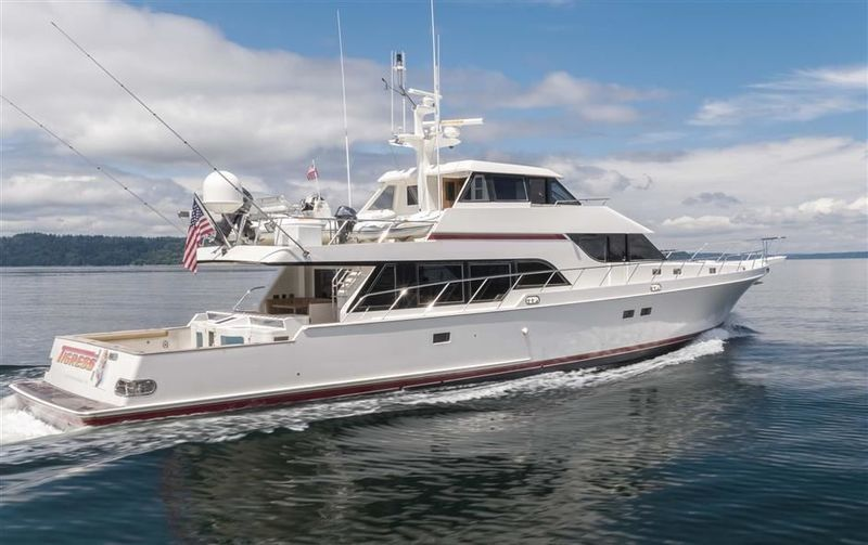 TIGRESS yacht Nordlund Boat Company. Inc.