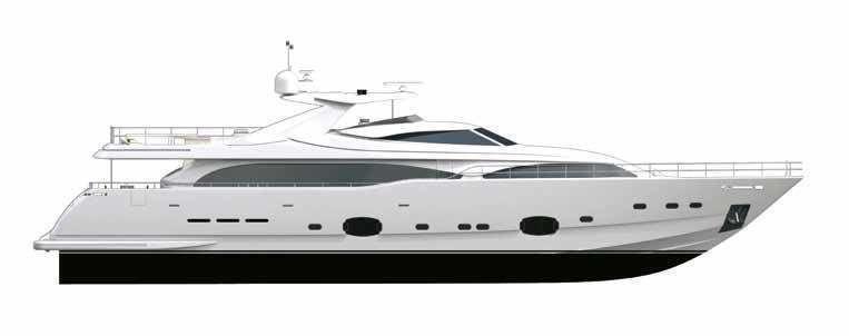 BAKARA yacht Custom Line