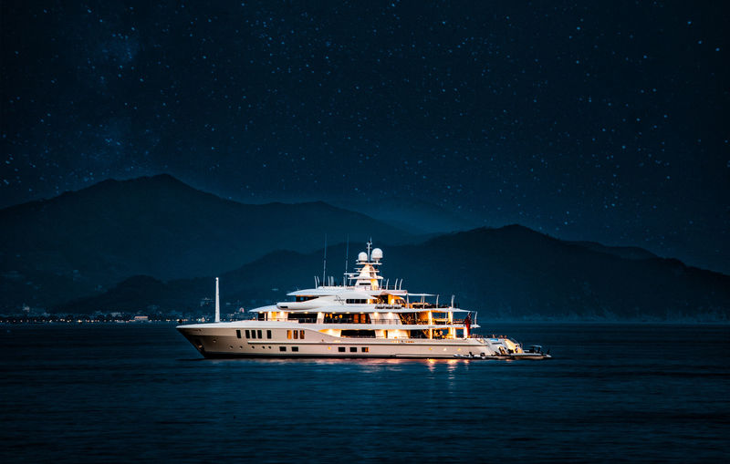 Amels 74m superyacht Universe in Santa Margherita