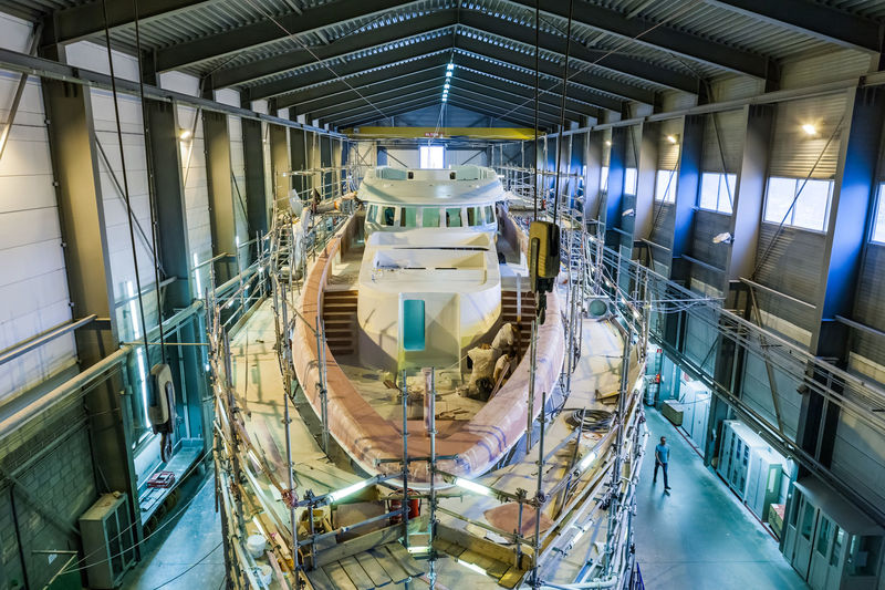 Project Aster under constructionat Heesen  in Oss