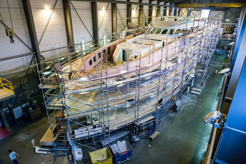 Project Aster under construction