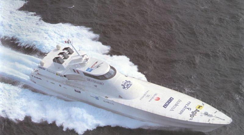 DESTRIERO yacht Fincantieri