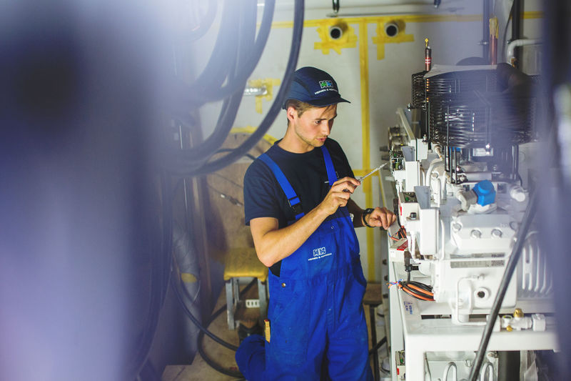 Cooling Engineer at Heinen & Hopman working on custom-built Provision Cooling Plant