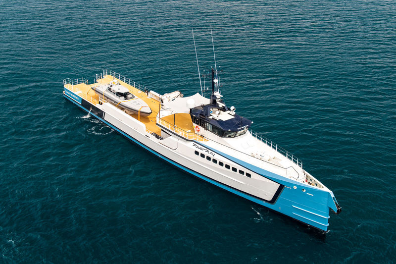 POWER PLAY  yacht Damen Yachting