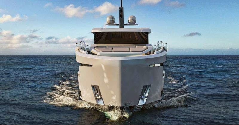 Ocean King 88 Ducale Series exterior design