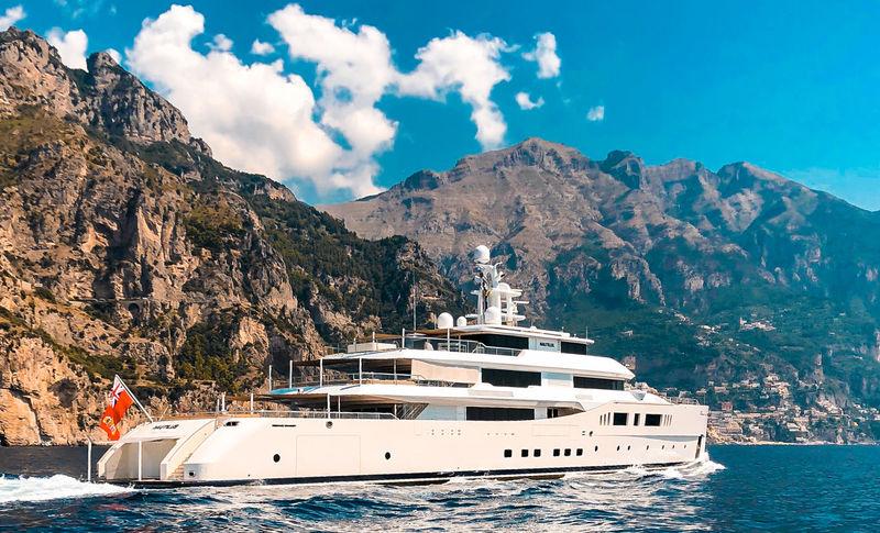 Nautilus cruising in Capri