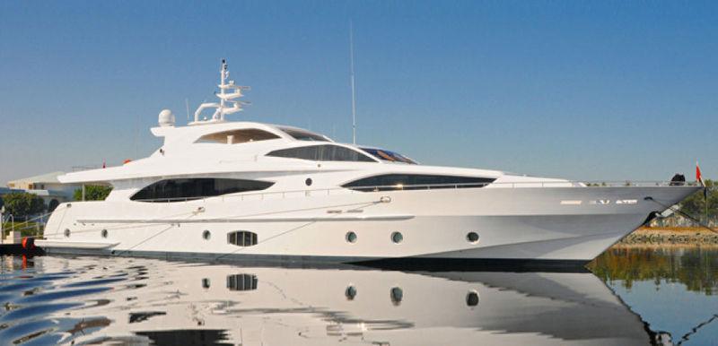 METEOR yacht Gulf Craft