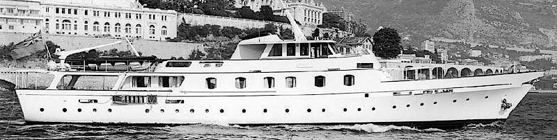 DIANA yacht Camper & Nicholsons Shipyard