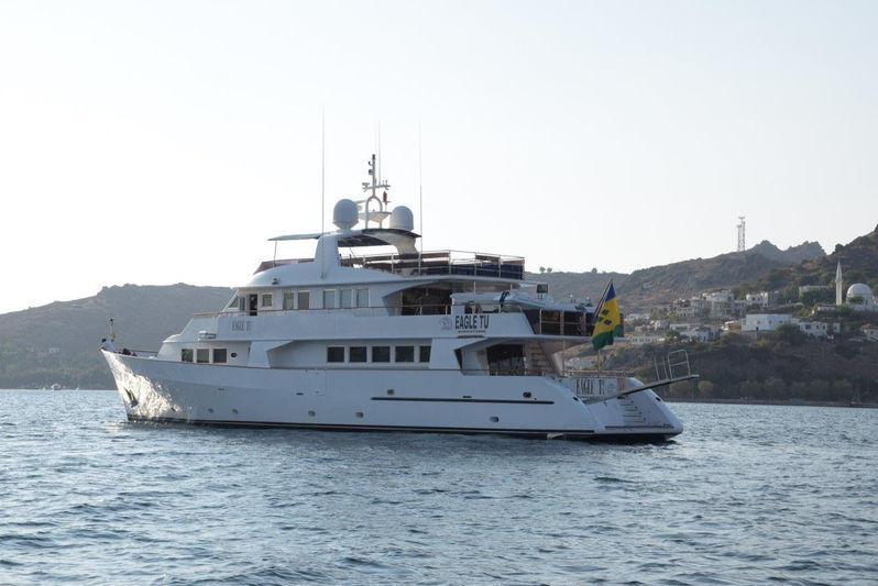 Eagle Tu anchored