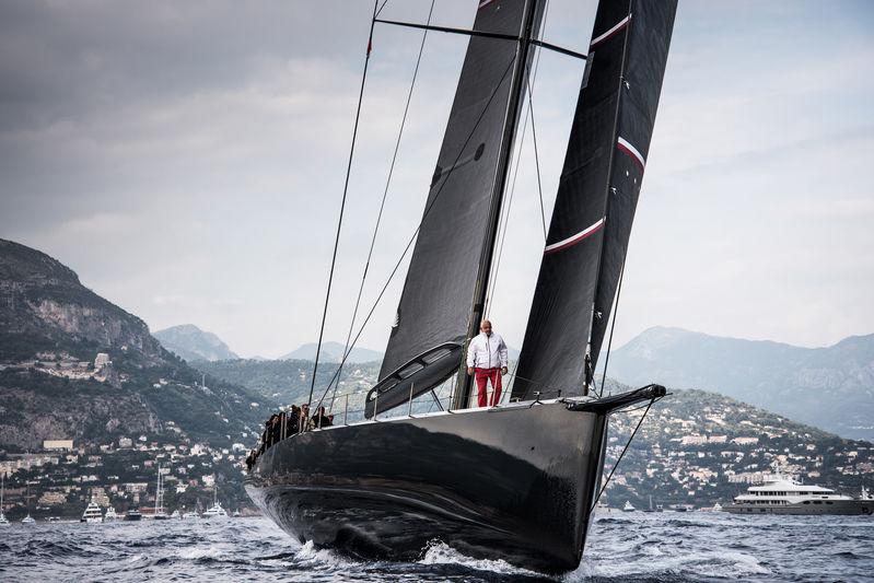 Wally sailing yacht Tango in Monaco