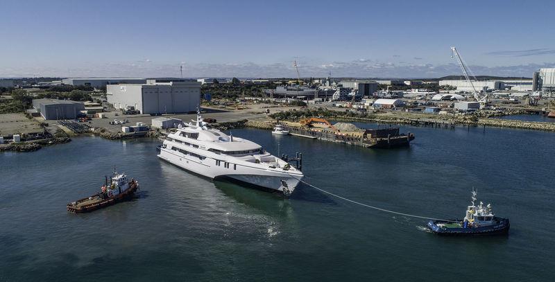 White Rabbit launch in Henderson, Australia