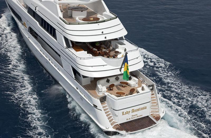 Lady Anastasia yacht