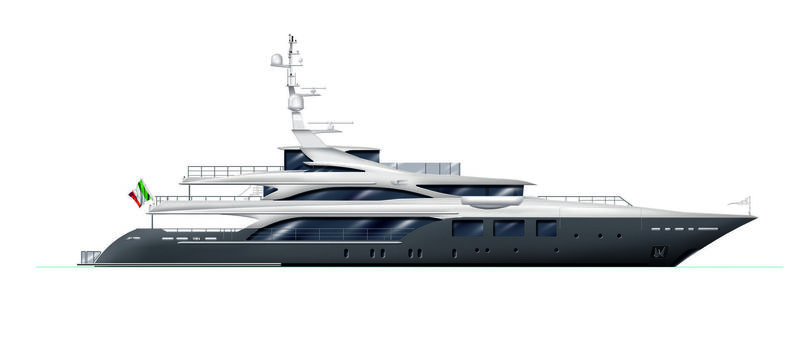 Benetti FB271 Vector profile rendering