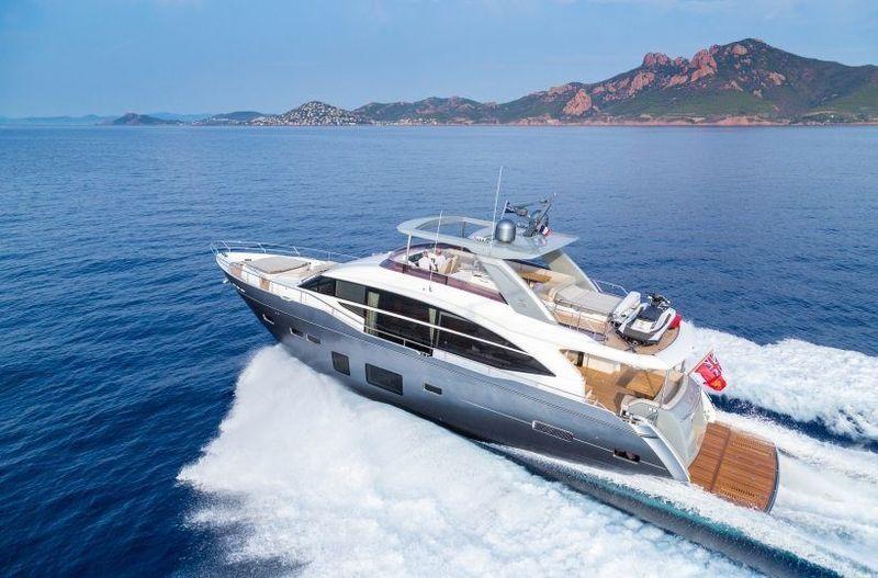 SHADES OF GREY  yacht Princess