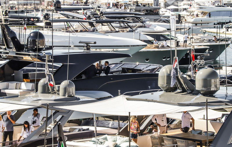 Cannes Yachting Festival 2018 Day 1