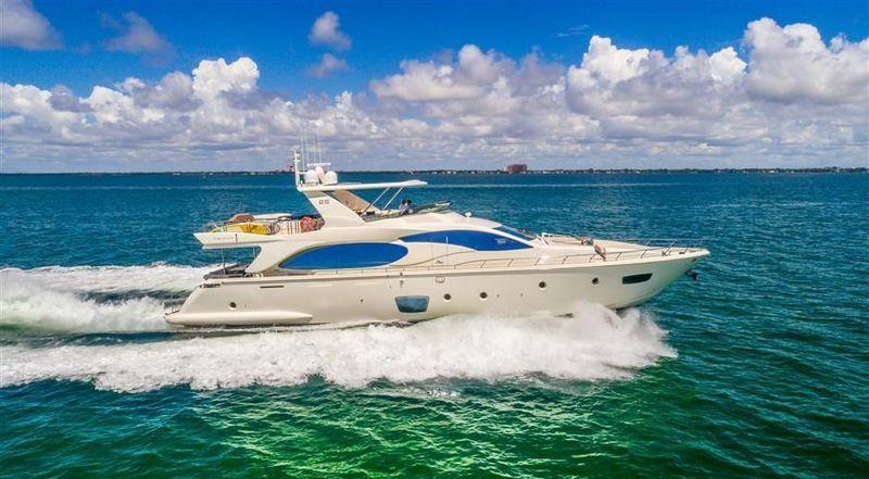 PERSISTENCE  yacht Azimut