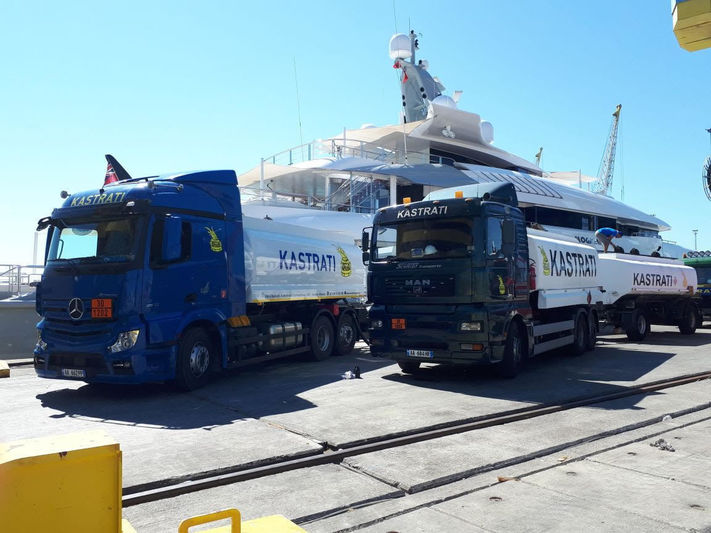 Fuel bunkering in Albania by Kastrati Group