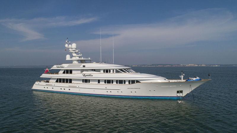 Cynthia anchored