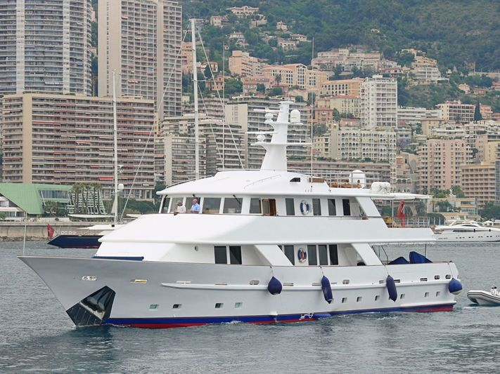 5 FISHES yacht SBF Shipbuilders
