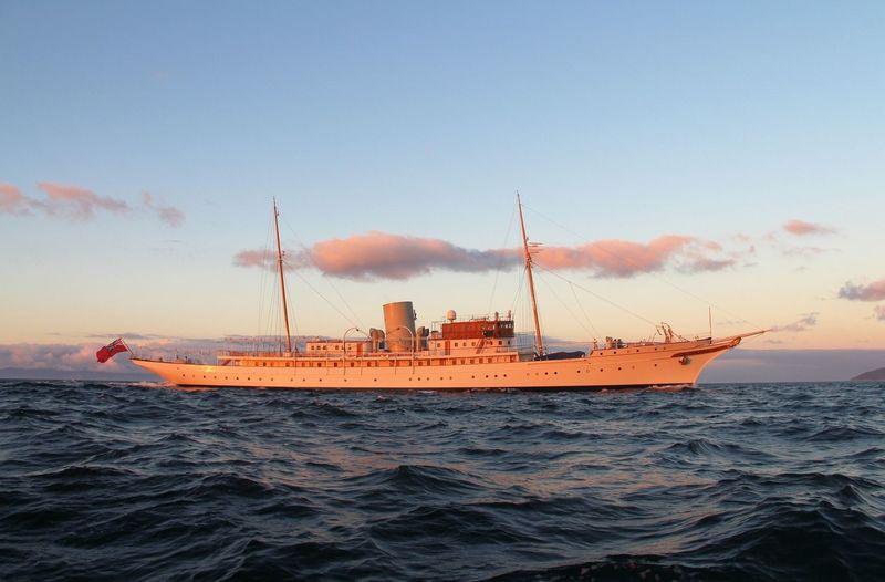 NAHLIN yacht John Brown & Sons