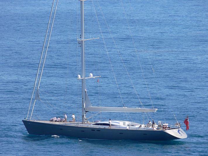 Y II arriving in Monaco