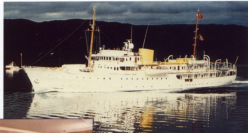 NORGE yacht Camper & Nicholsons Shipyard