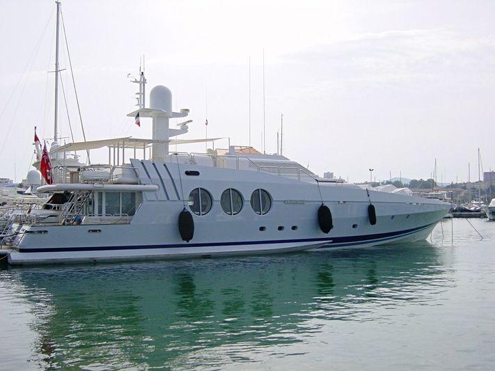 ANTIPODEAN yacht Oceanfast