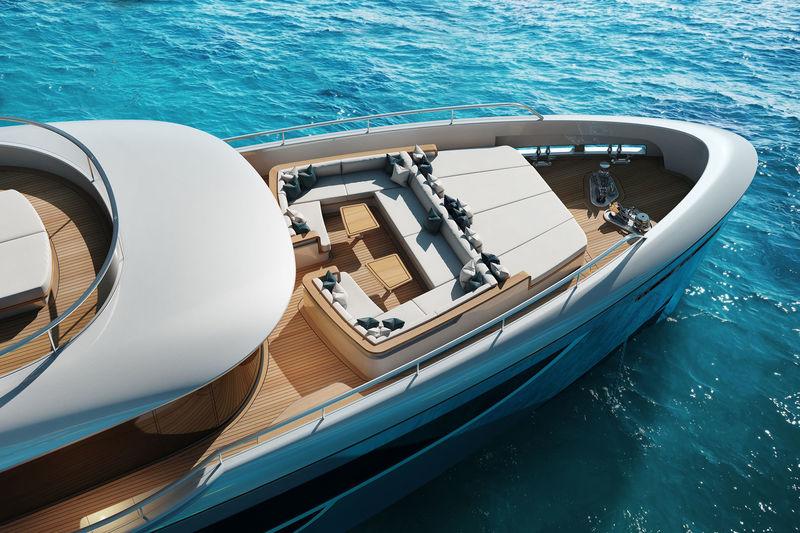 Benetti 40M Oasis exterior design