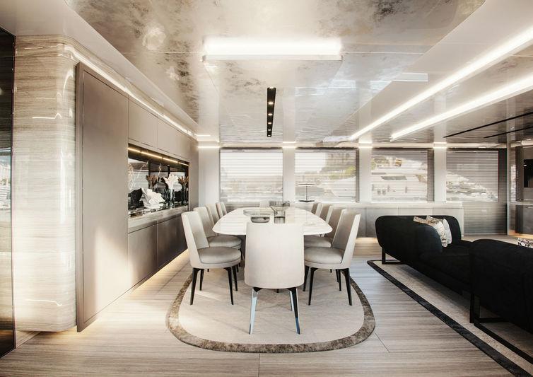 Giuseppina Arena's Westport W125 interior design