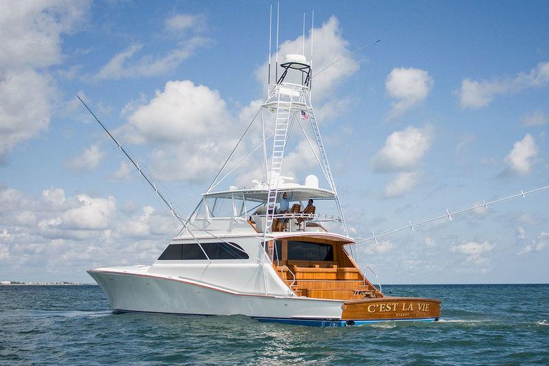 C'EST LA VIE  yacht American Custom Yachts, inc.