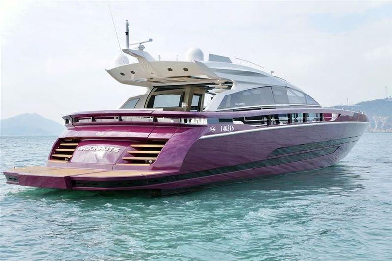 ARGONAUTS yacht Baia