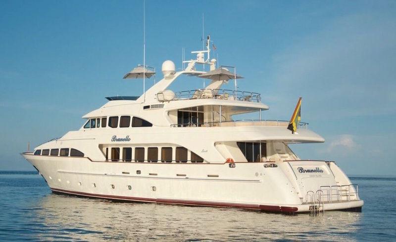 Brunello anchored