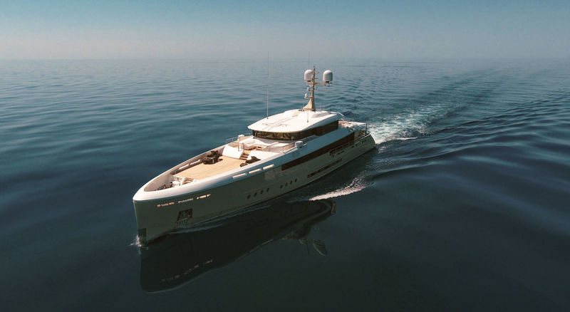 50m Rossinavi superyacht Endeavour II