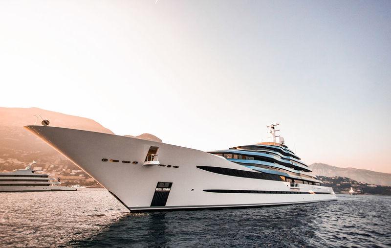 110M superyacht Jubilee in Monaco