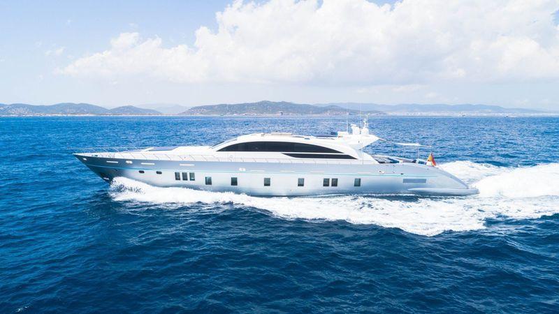 BLUE JAY yacht Tecnomar