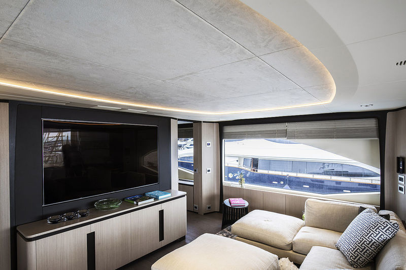 Luce5 lighting project Benetti M/Y BOTTI