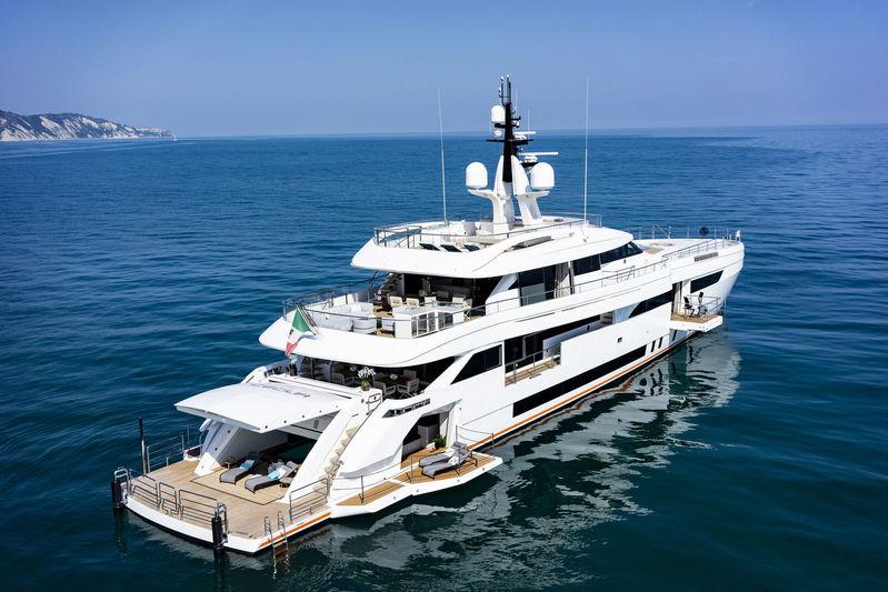 Wider 165 Cecilia yacht