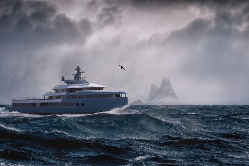 Damen SeaXplorer 75 exterior design