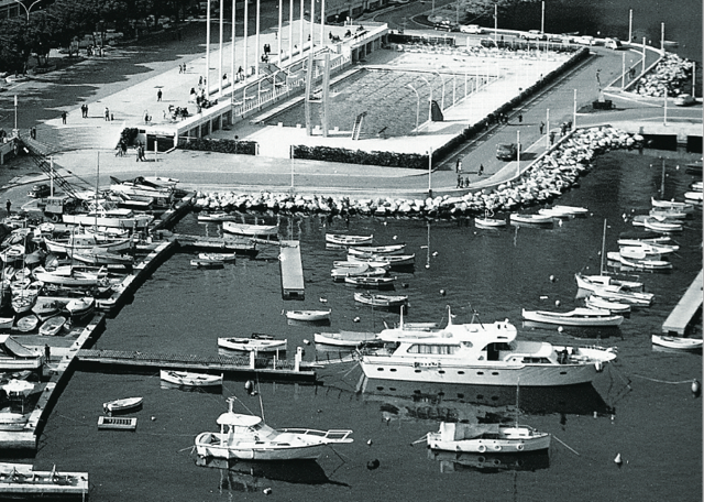 Carostefal anchored in Monaco in 1966