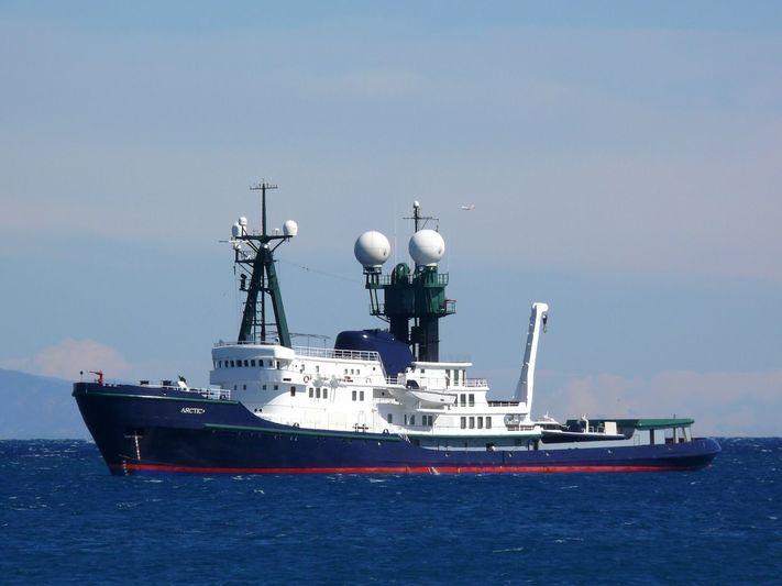 ARCTIC P yacht Schichau Unterweser AG